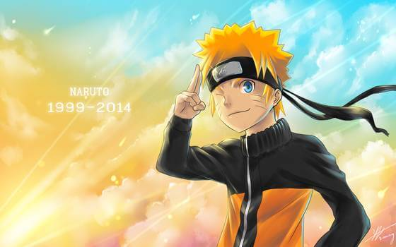 28. Naruto (1999-2014) top most popular anime of all time