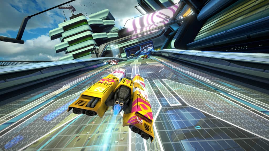 WipEout- Omega Collection unique high end racing game for PS4
