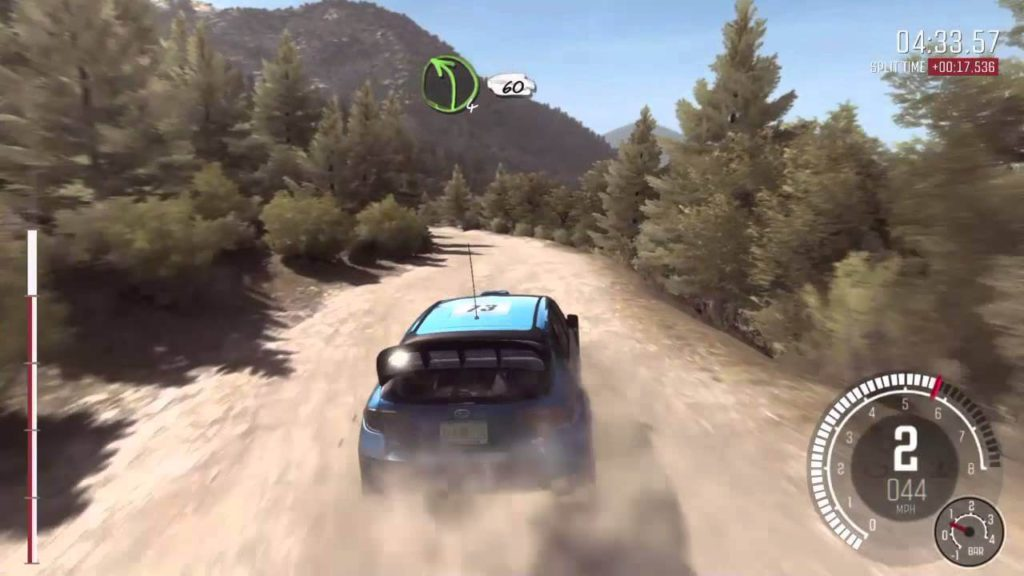 DiRT Rally action car rally PS4 game