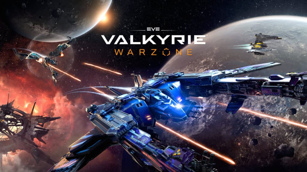 4 Eve Valkyrie scifi warzone on PlayStation 4, played through PlayStation VR