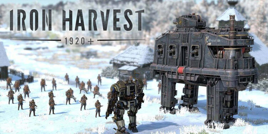 IRON HARVEST best strategy game ps4 with machines