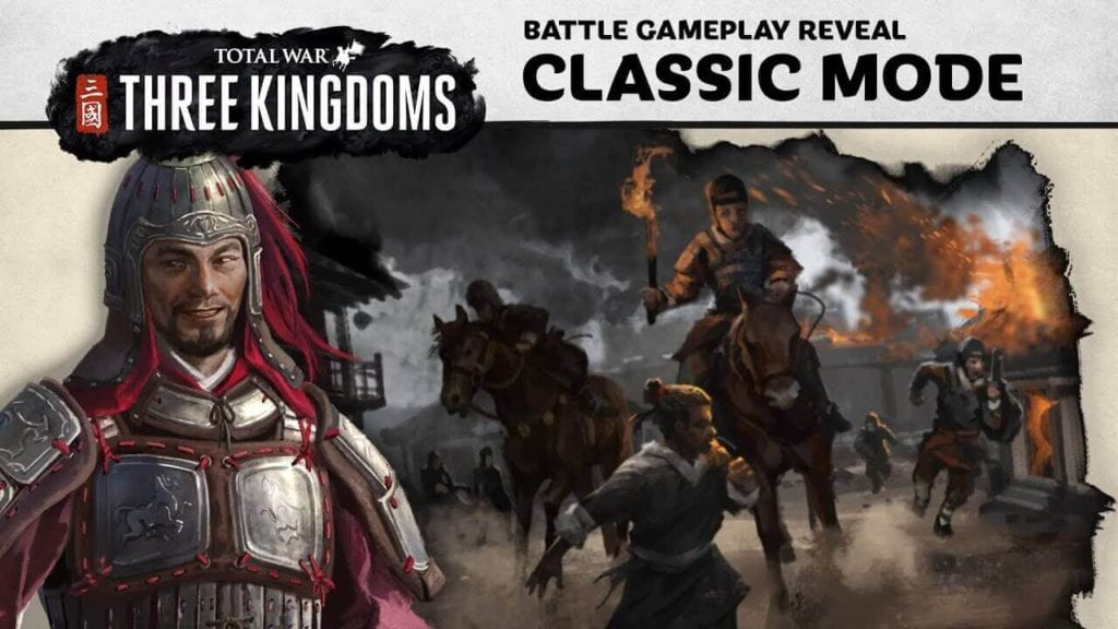 Total War Game- Three kingdoms