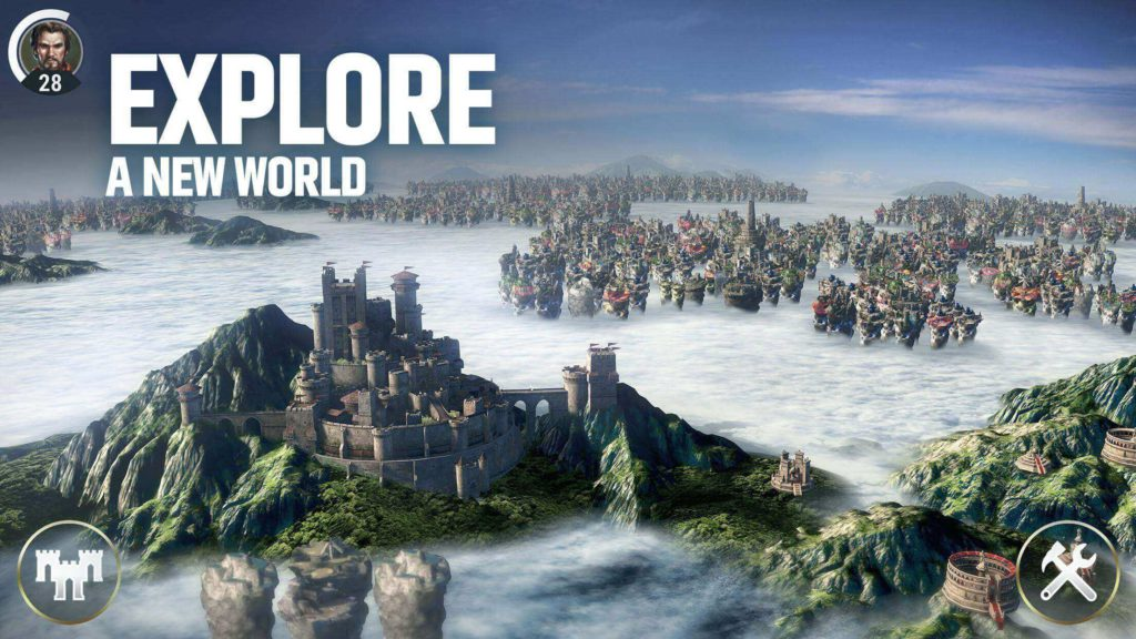 Dawn of Titans STUNNING 3D WARFARE massive ACTION-STRATEGY game on mobile