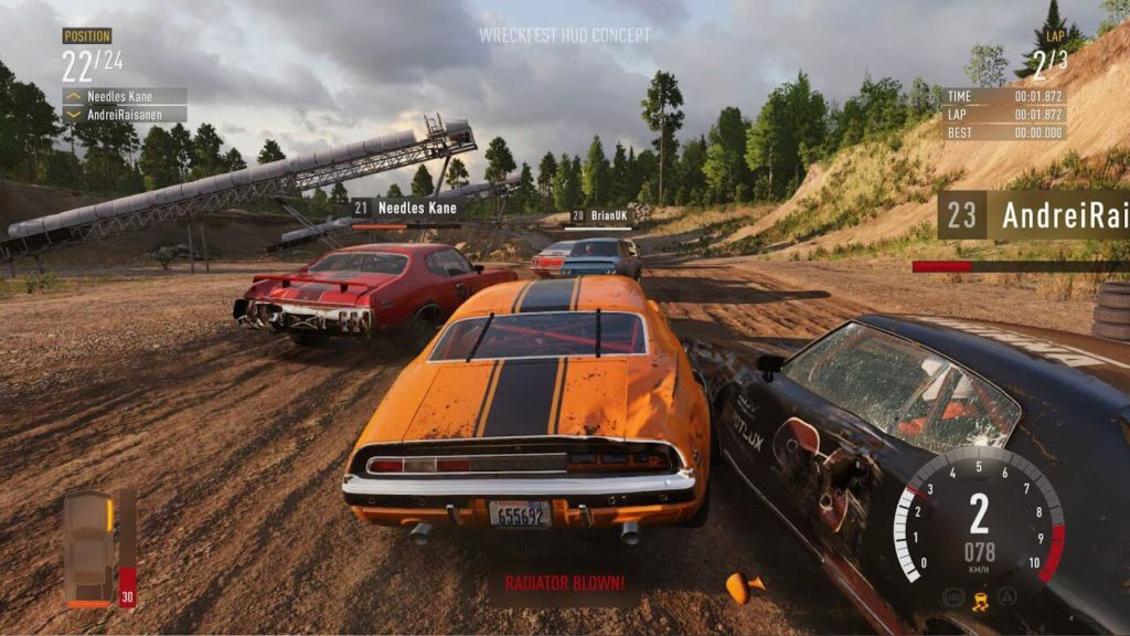 Wreckfest exciting Car racing game PS4