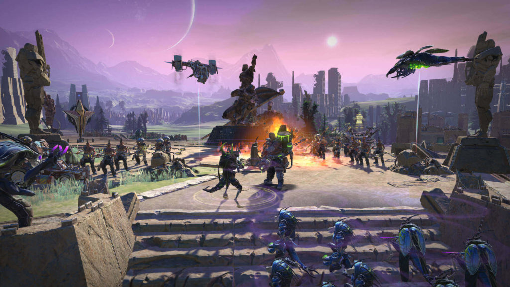Age of wonder planetfall4X turn-based strategy video game
