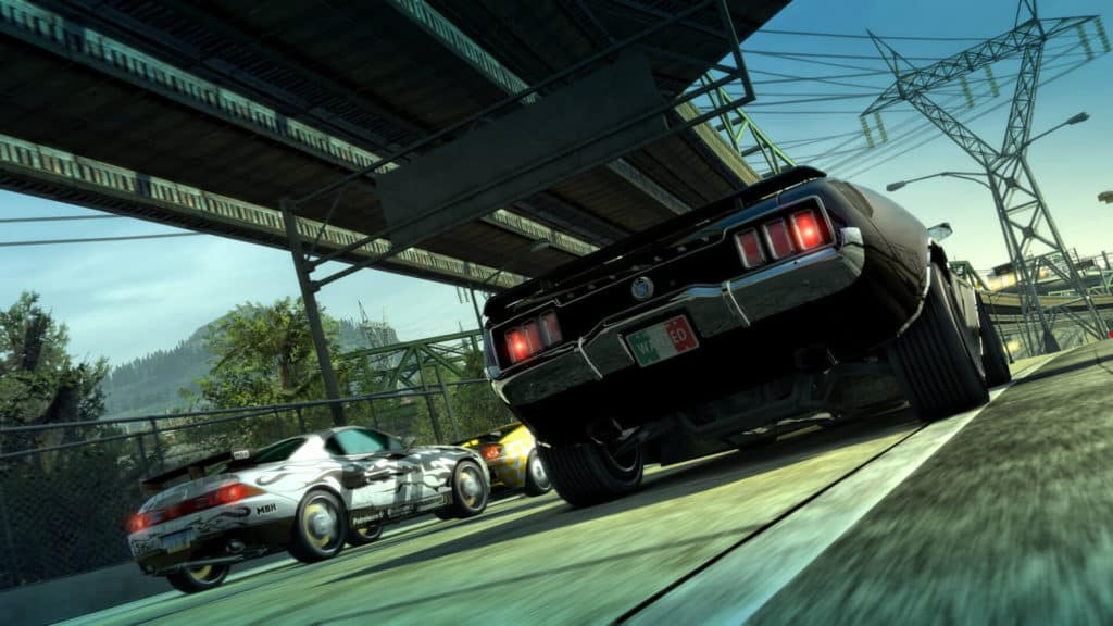 Burnout Paradise Remastered top rated city racing PS4 game