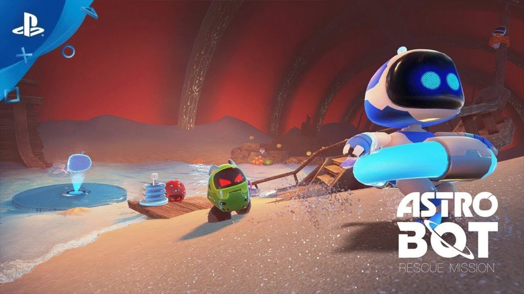 7 ASTRO BOT Rescue Mission is a new VR ps4