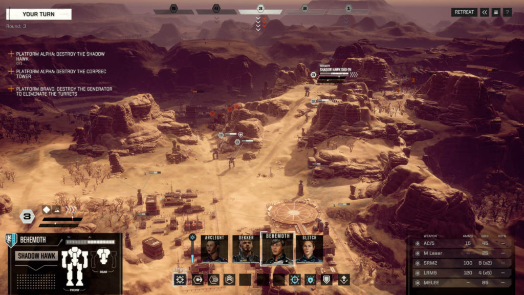 BATTLETECH turn-based strategy video with outstanding gameplay and well crafted story