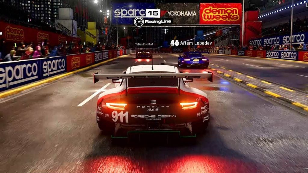 GRID quality high intensity car racing games
