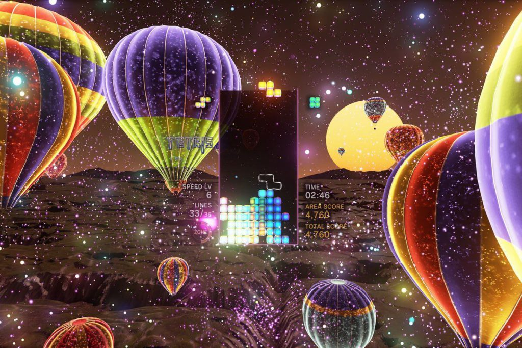 9 Tetris Effect best PS4 VR game