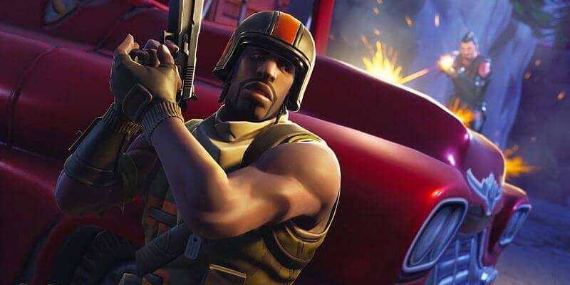 Aerial Assault Trooper Fortnite skins and character