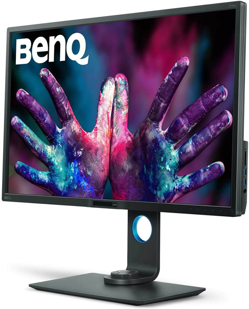 BenQ PD3200U 32 Inch- best 4k monitor for graphic design and editing