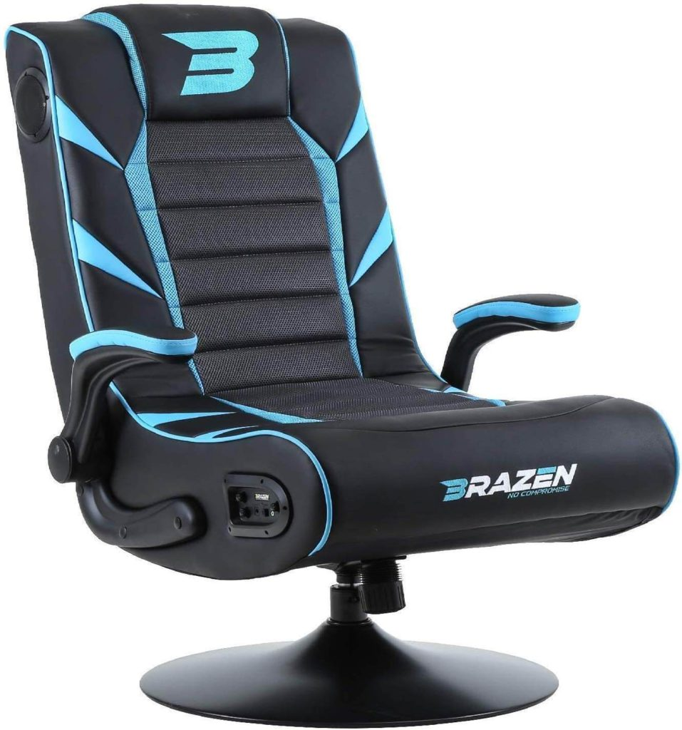 BraZen Panther Elite vibrating gaming chair with speakers