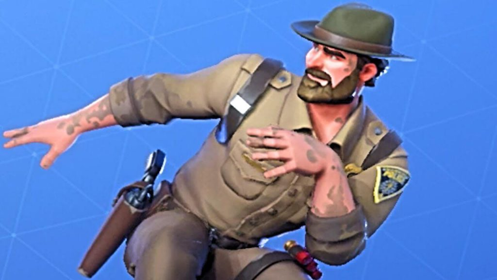 CHIEF HOPPER exclusive Fortnite skin and character