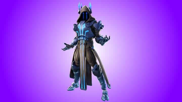 Ice King exclusive Fortnite skin and character