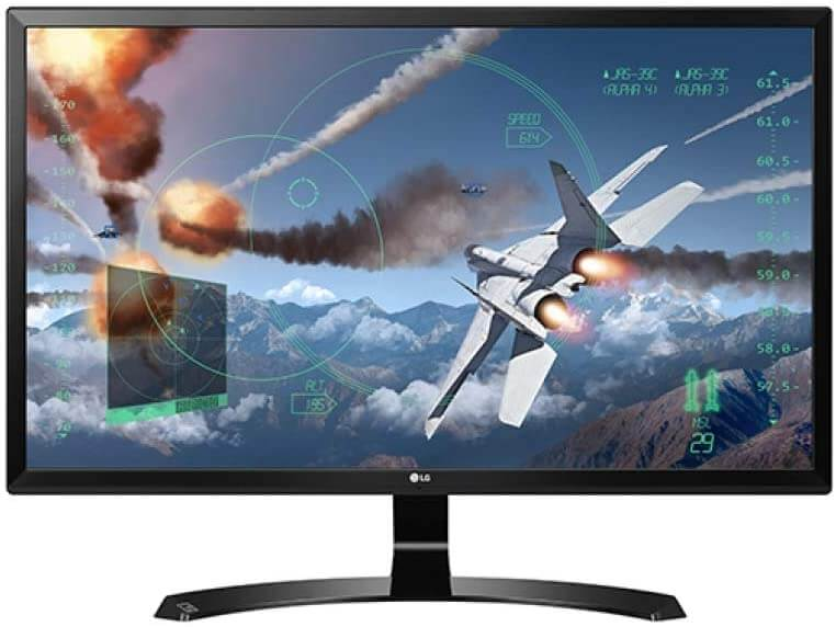 LG UHD 24 INCH cheap 4K IPS MONITOR for Xbox and PS4