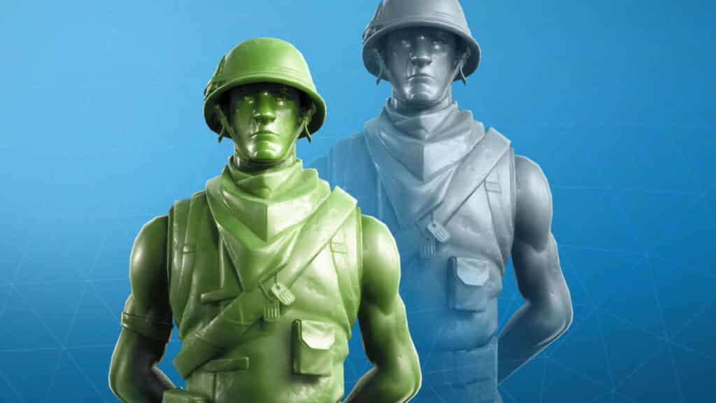 Plastic Patroller and Spielzeug Trooper Fortnite skins and character
