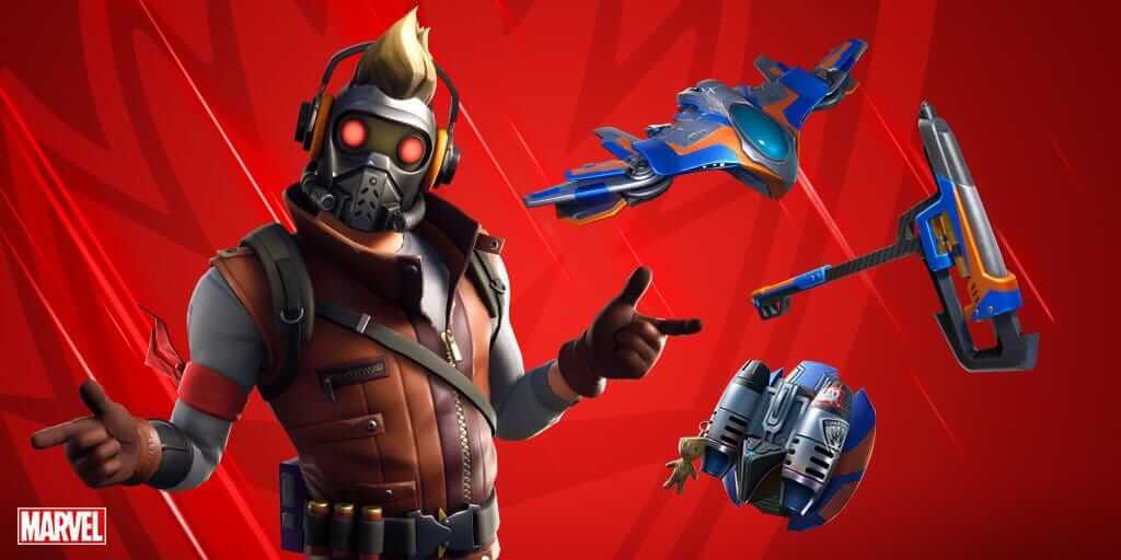 Star-lord Fortnite skins and character
