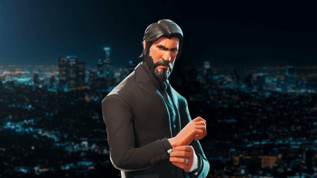 THE REAPER iconic and famous Fortnite skin and character