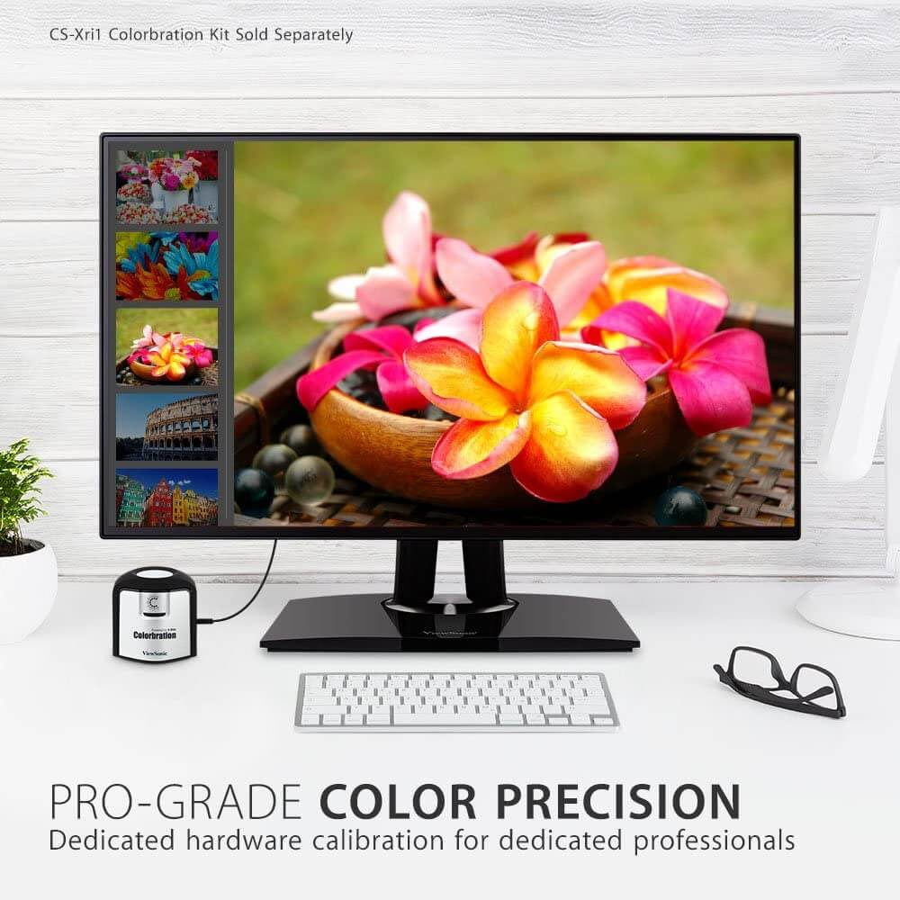 ViewSonic VP2768 27-Inch- best 4k monitor for business and office work