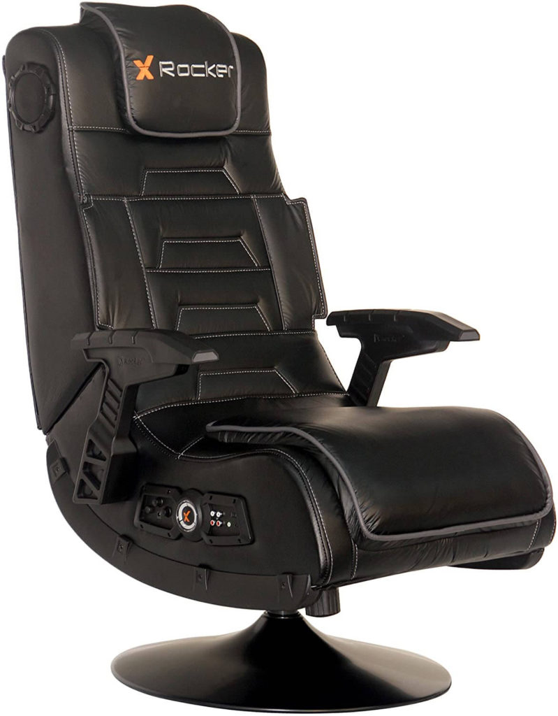 X Rocker Pro Collection 2.1 premium leather Chair With Speakers