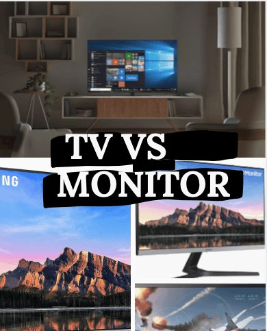 tv vs monitor. how to use tv as a monitor