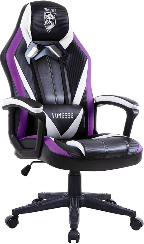Vonesse Purple massage Chair for Adults