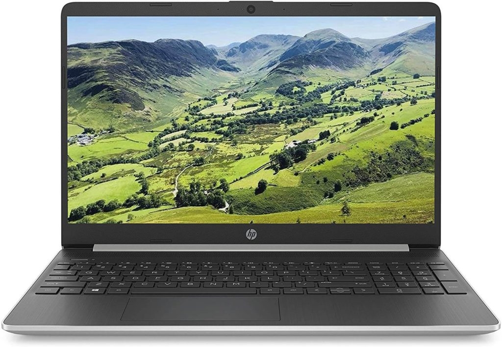 2. HP 15s business Laptop with full number keypad