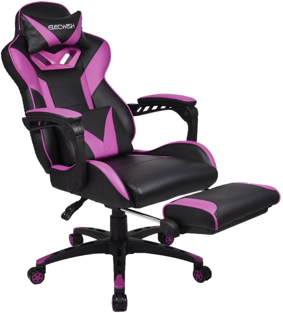 YOURLITEAMZ- Best Purple Racing Chair for Home and Office