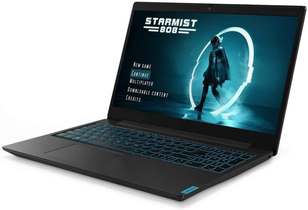 4. Lenovo IdeaPad L340 gaming laptop with numeric keypad