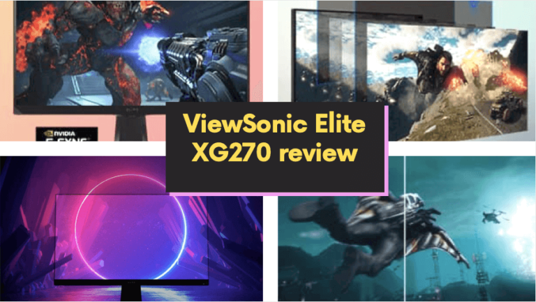 ViewSonic Elite XG270 review
