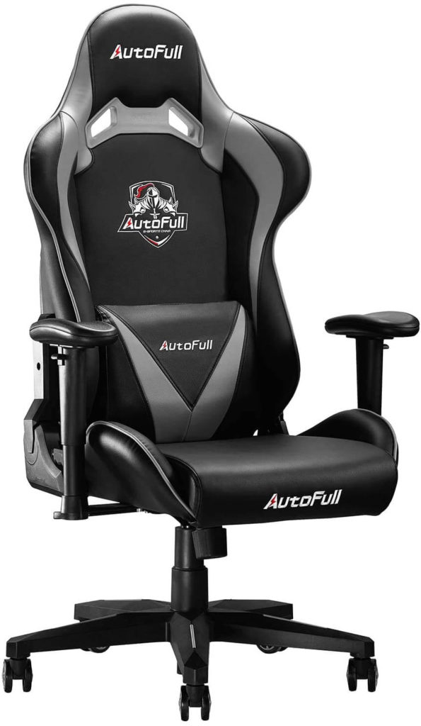 AutoFull Office Chair- Big and Tall gaming chair 330lbs