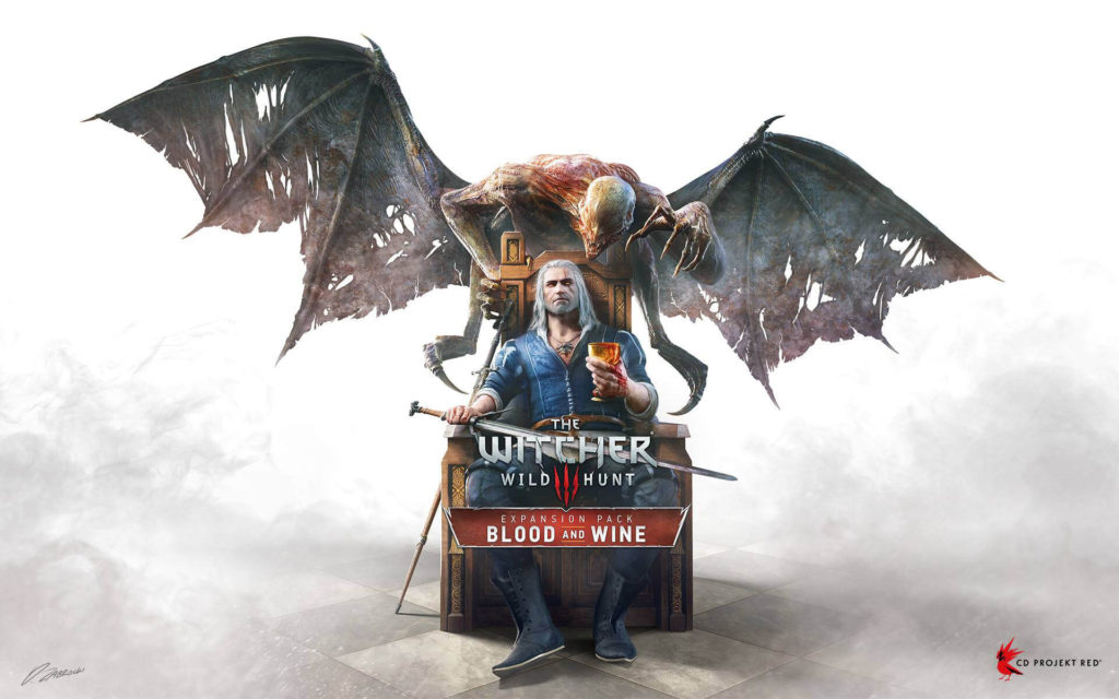 3 THE Witcher 3- Wild Hunt - Blood and Wine action role playing game for PS4