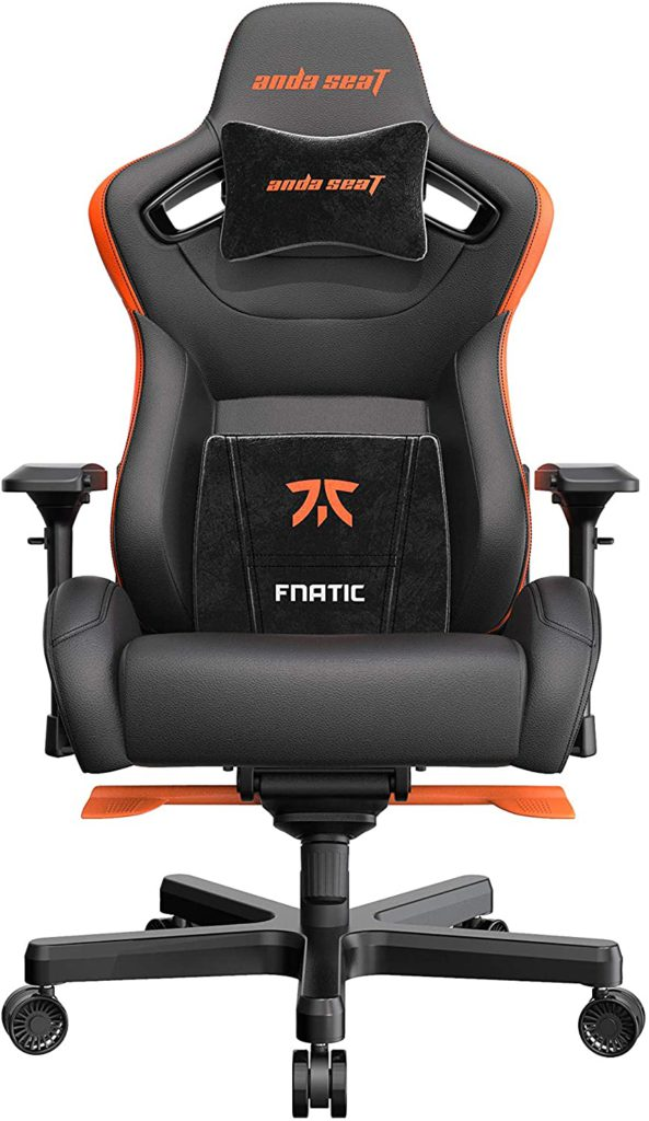 Anda Seat Fnatic Edition Pro XL Gaming Chair for professionals 440 lbs