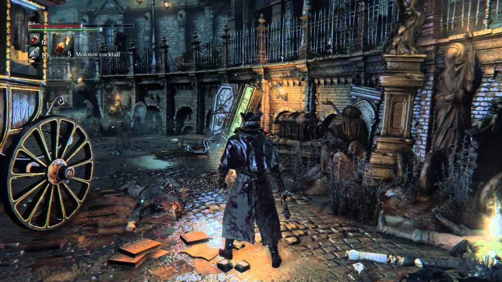 7 Bloodborne best action game for ps4