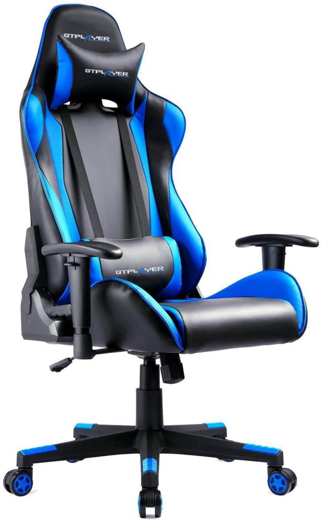 8) GTPLAYER big and tall computer chair for Adults
