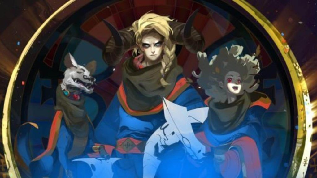 8 Pyre- action role-playing video game for ps4 and ps5