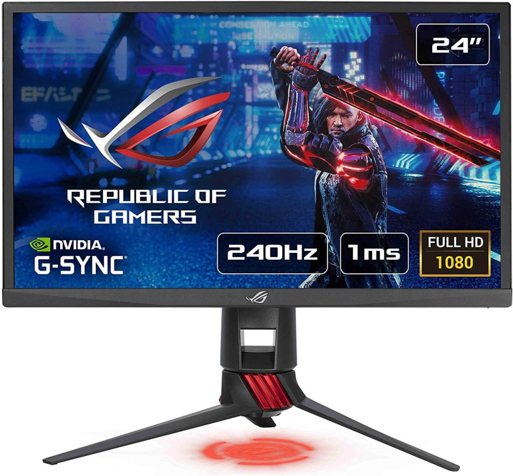 ASUS ROG STRIX XG248Q: Best 24 inch 240Hz monitor