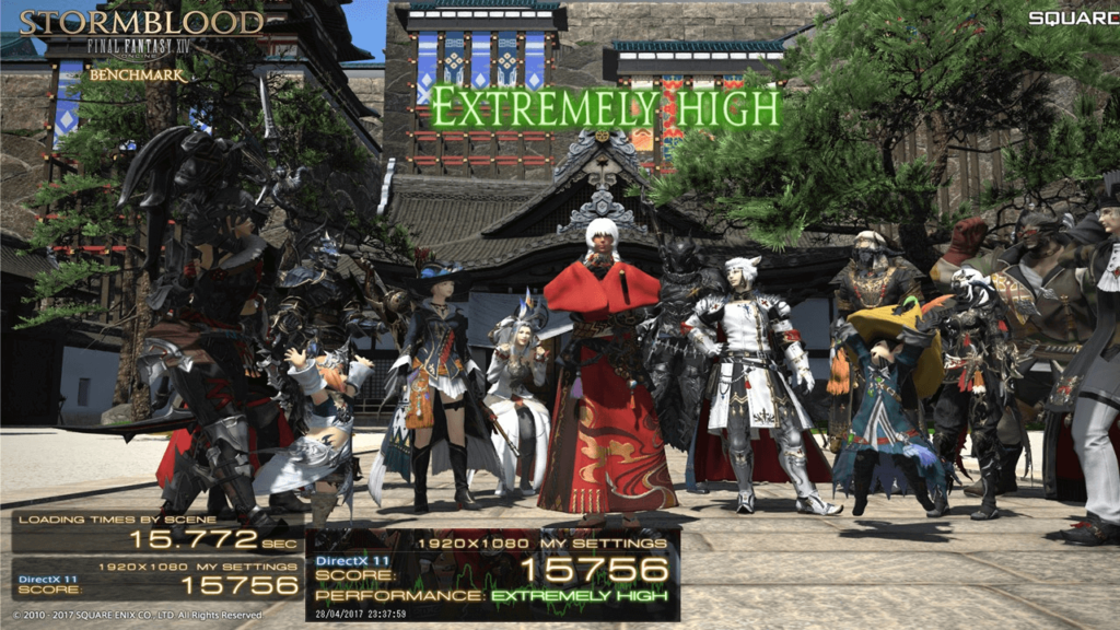 9 Final fantasy XIV- best ps4 multiplayer online role-playing game