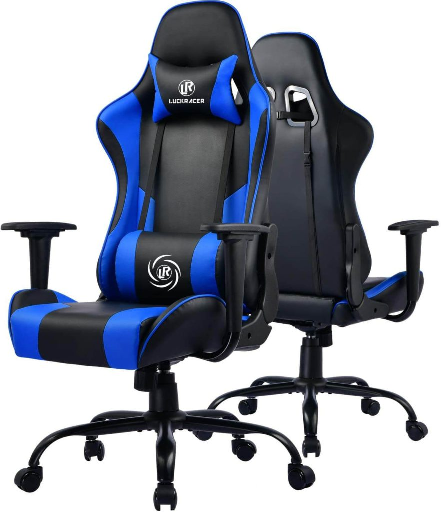 Top rated under £100 Luckracer Sport best pc Gaming Chair uk