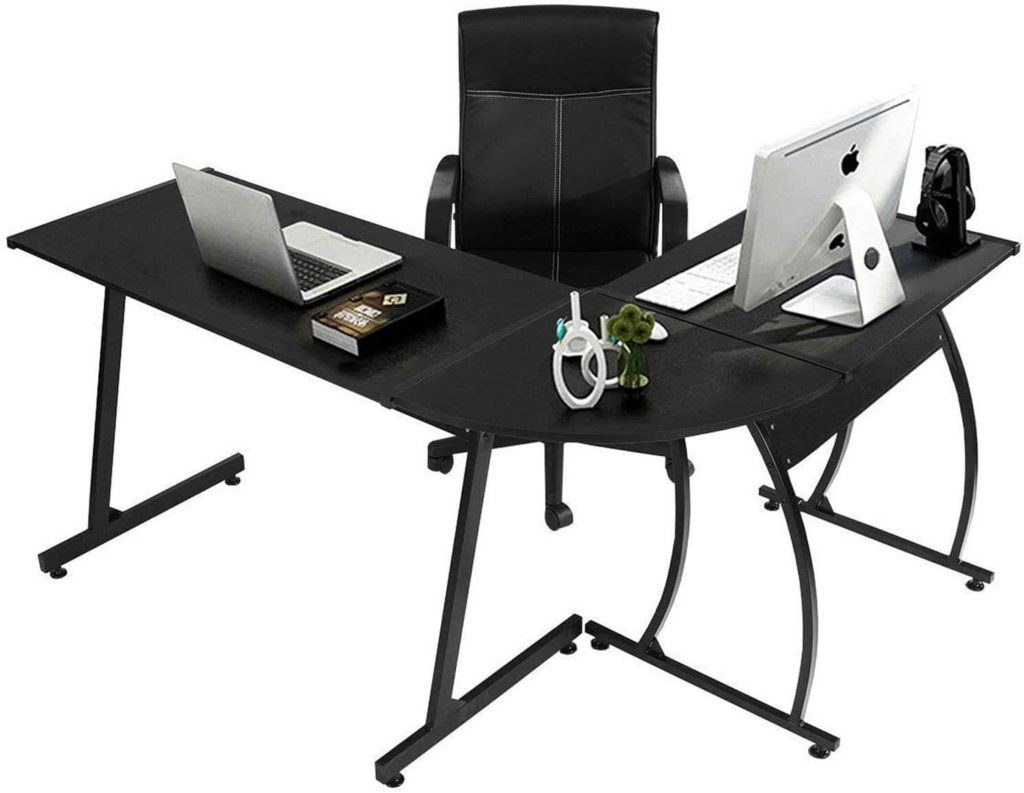 Coavas L-Shaped Cheap Desk for office and Home