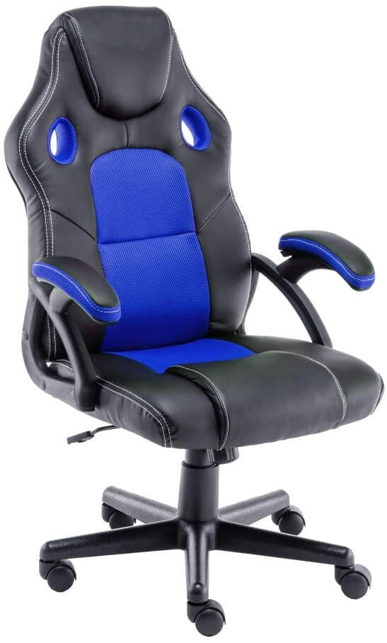Exofcer large executive office chair for back pain