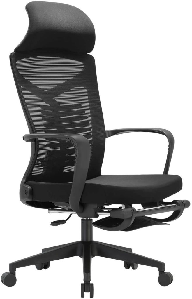 SIHOO all-in-one chair with lumbar support