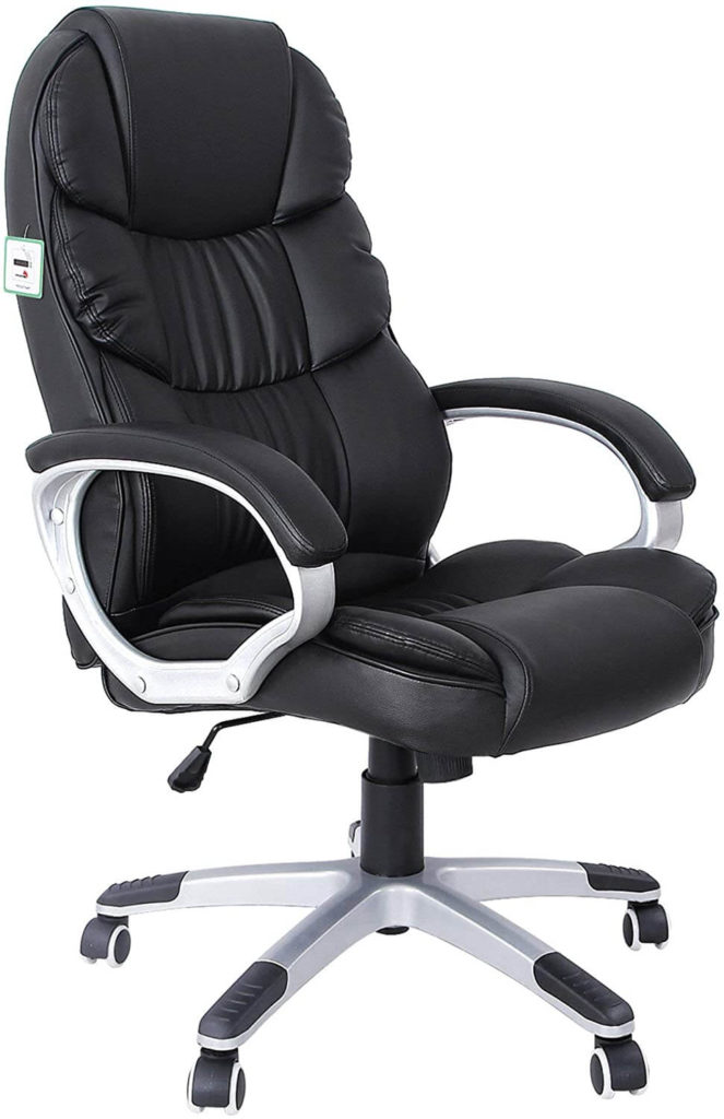 Songmics- Best chair for back pain in office