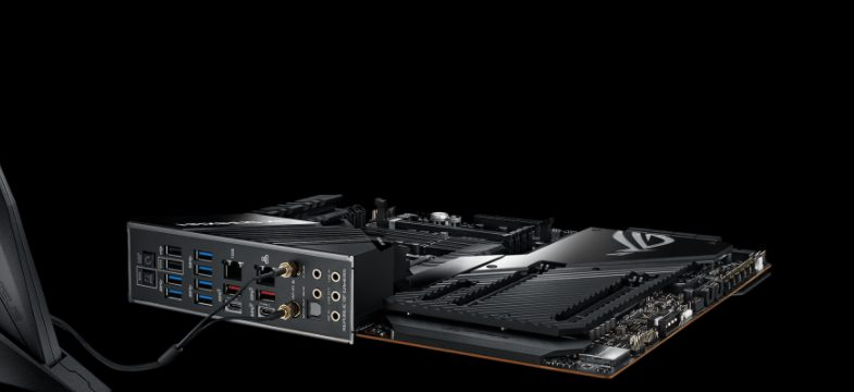 ASUS ROG Maximus XII Extreme available ports