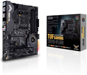 ASUS TUF Gaming X570 AMD 3600 motherboard